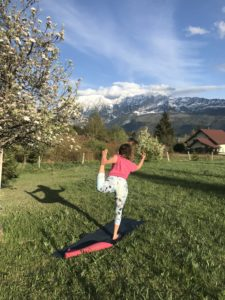 LIVIN YOGA Tänzer Apfelblüte